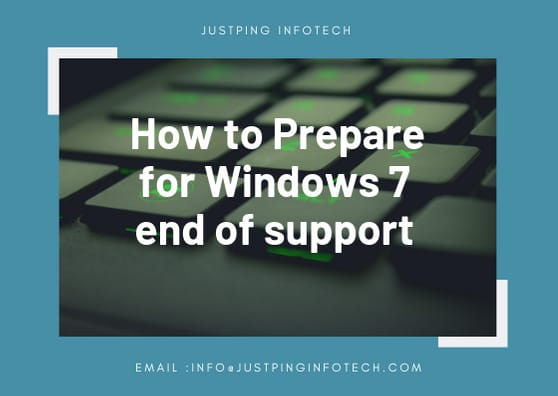 How to prepare your system Before Win 7 End Of Support